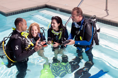 Divemaster internship Professional skills in Europe