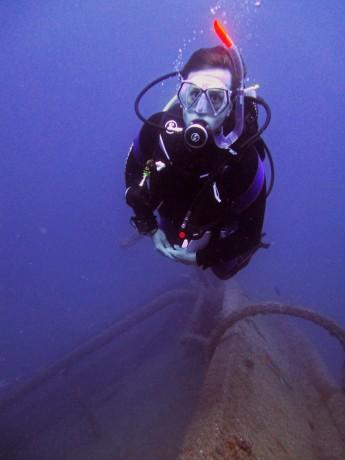 Harry - PADI Divemaster Candidate Wreck Diving