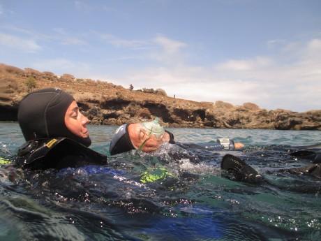 PADI Rescue Diver course - Jana