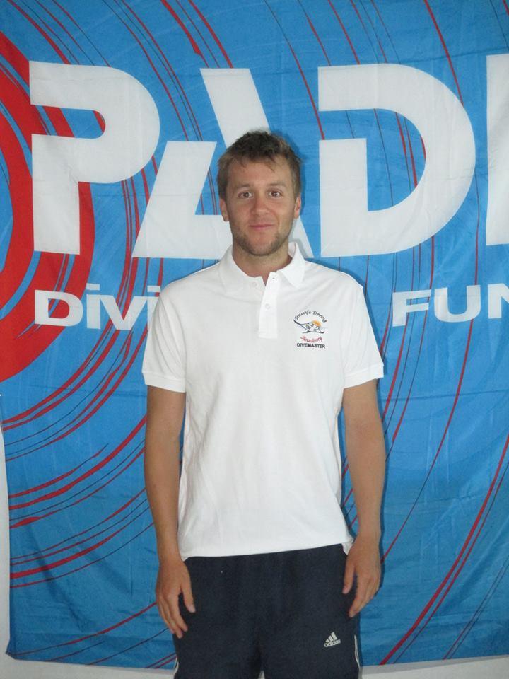 Harry PADI Divemaster