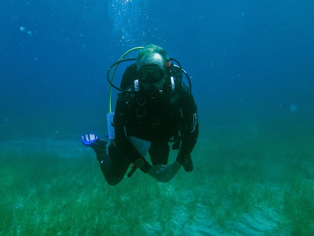 Divemaster intern in Tenerife Paul