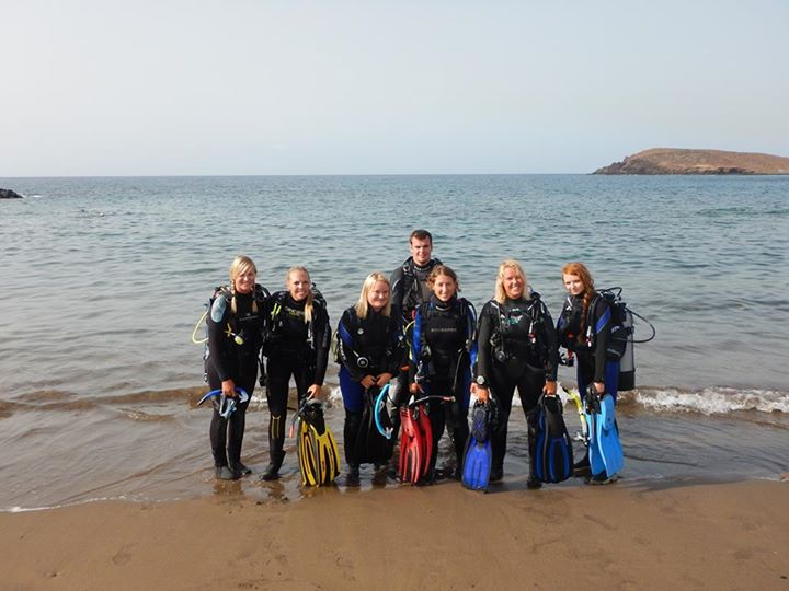 Divemaster internship Tenerife style