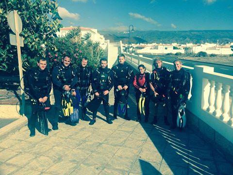 Divemasters in Tenerife