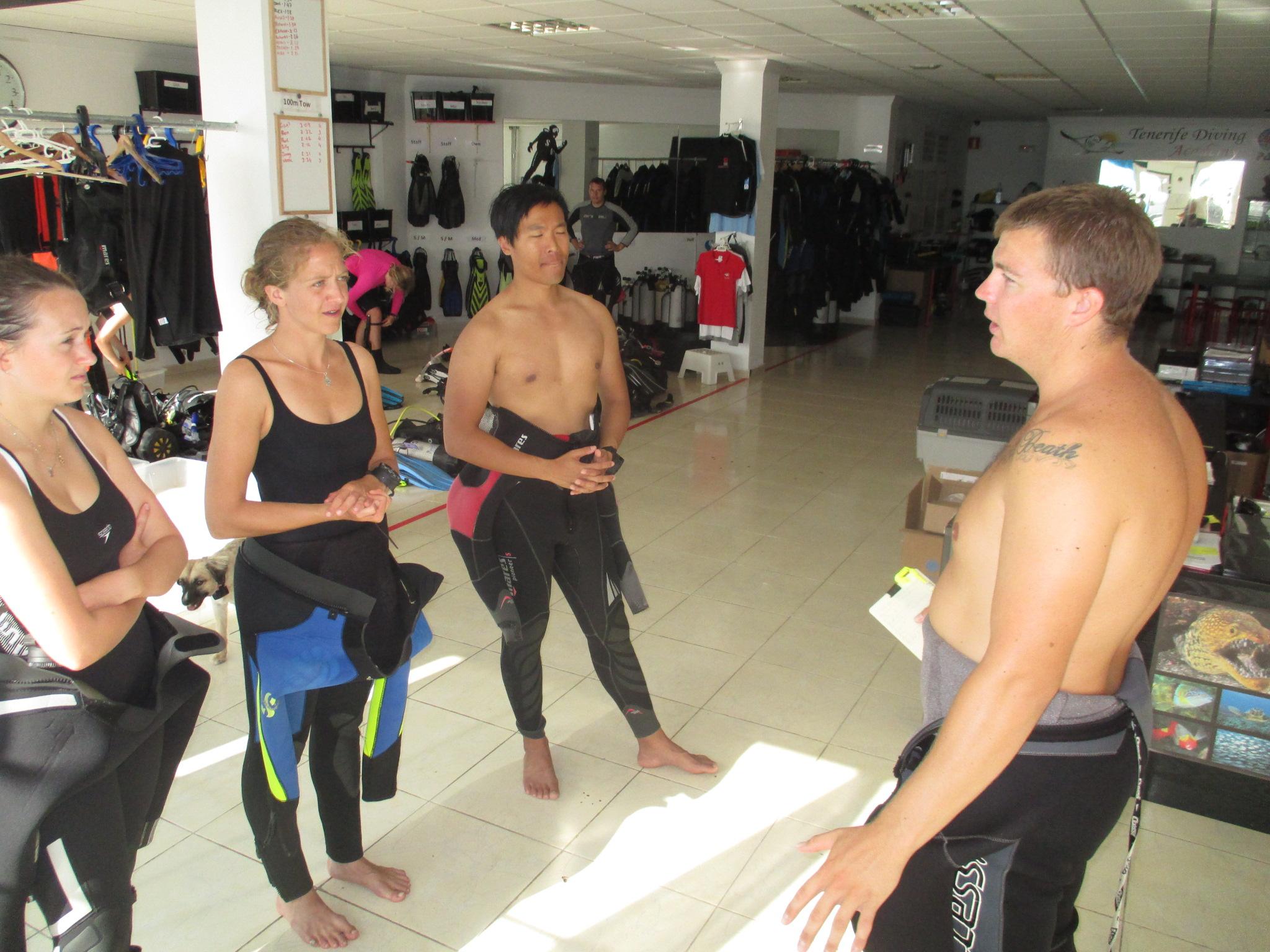 Australian Divemaster internship