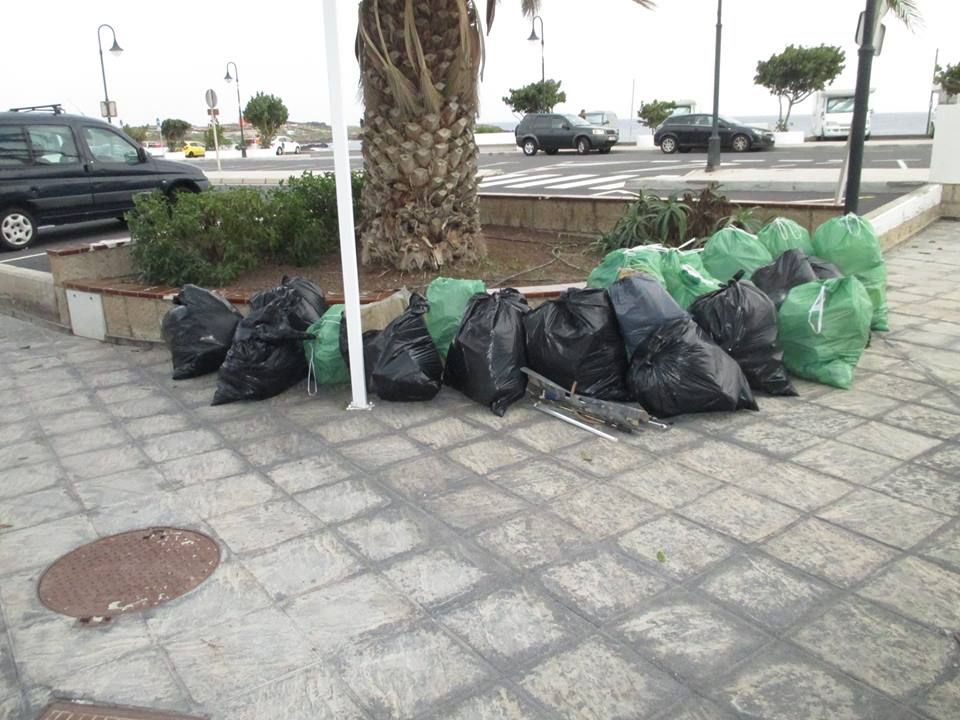 Project Aware clean up Tenerife
