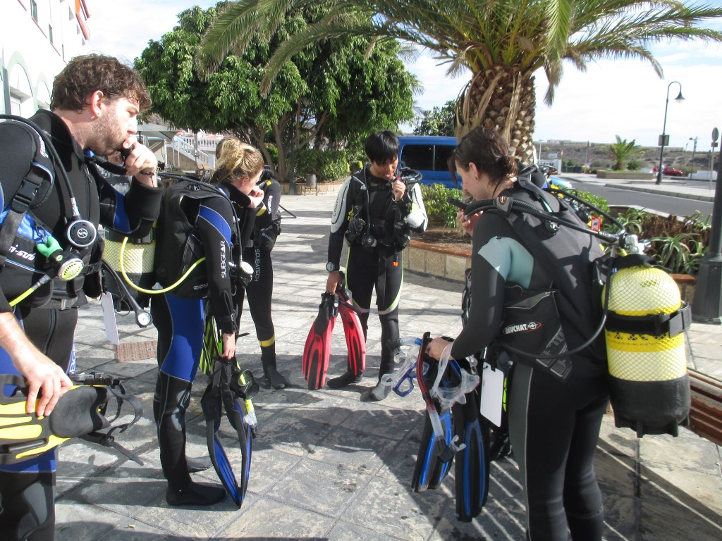 PADI Divemaster Tenerife Briefings