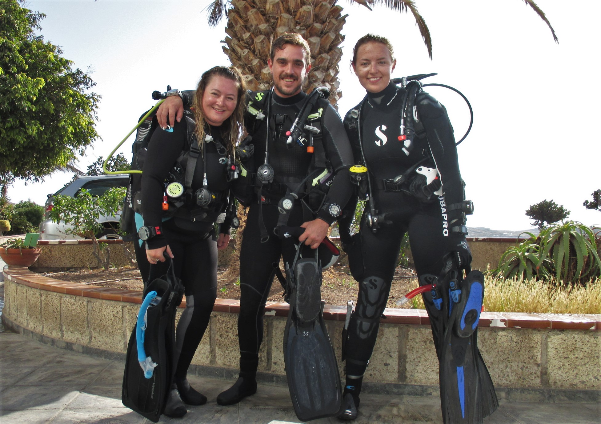 PADI Divemaster Tenerife