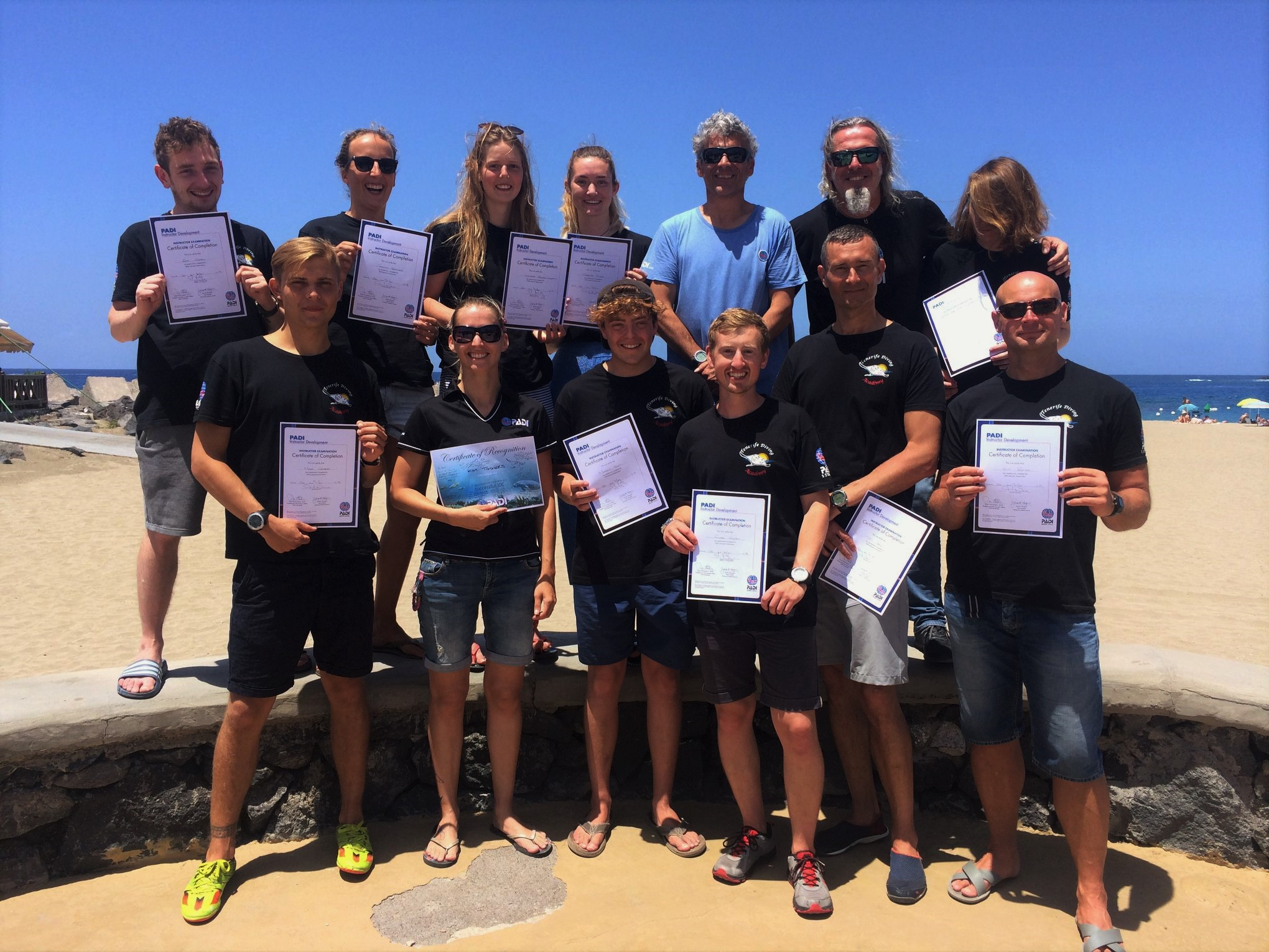 PADI Instructor course Tenerife
