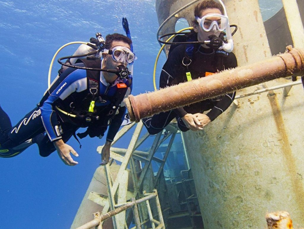 PADI wreck-diver